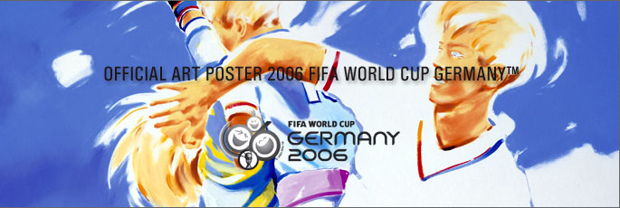 Official Art Poster 2006 Fifa World Cup Germany
